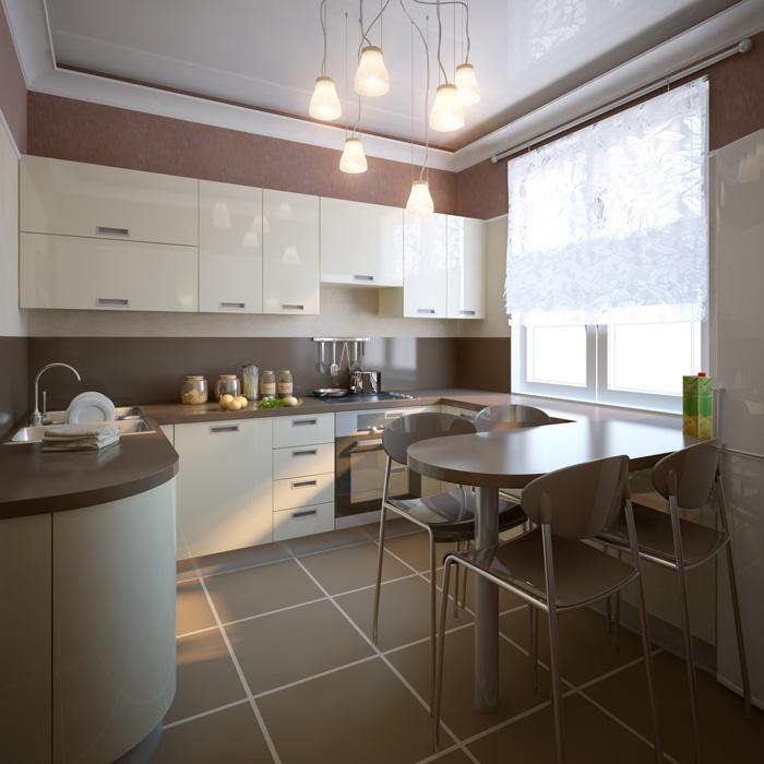 Colori pareti cucina consigli suggerimenti ed esempi - Cucina bianca e marrone ...