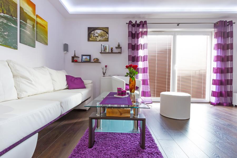 colori pareti soggiorno, consigli, suggerimenti ed esempi ... - Parete Soggiorno Fucsia 2