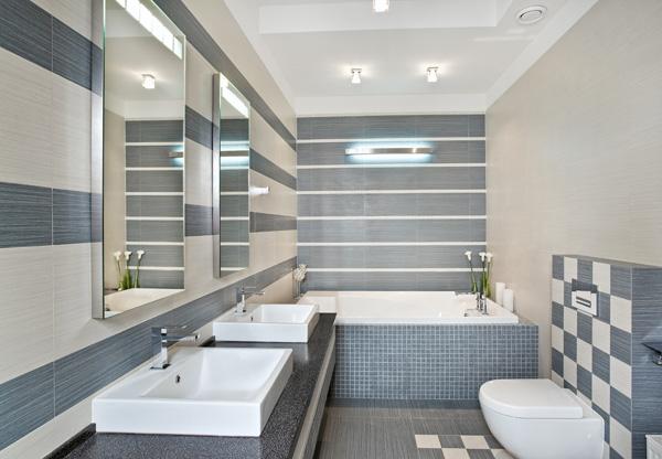 Piastrelle per il bagno consigli e opinioni - Pitturare mattonelle bagno ...