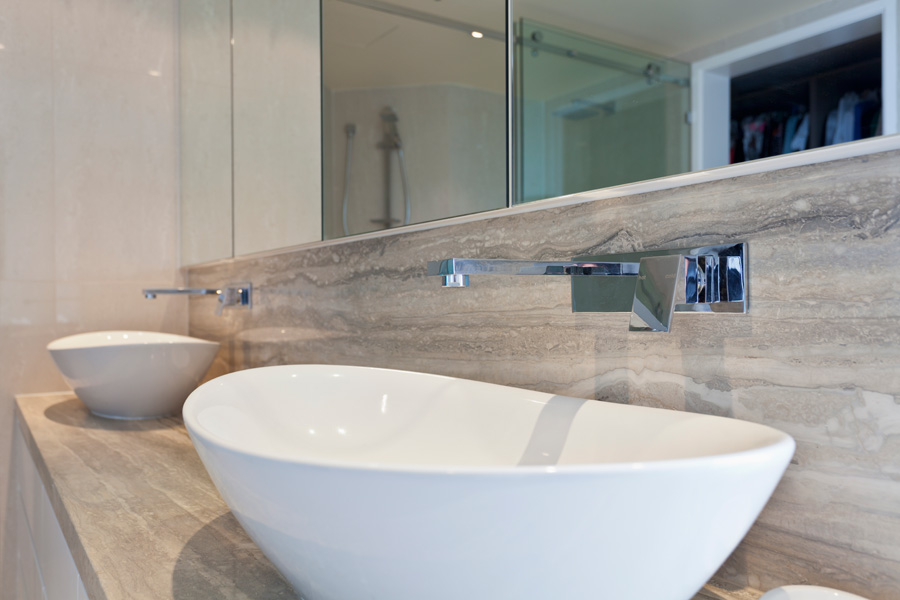 Scegliere il lavabo del bagno - Lavabo angolare bagno ...