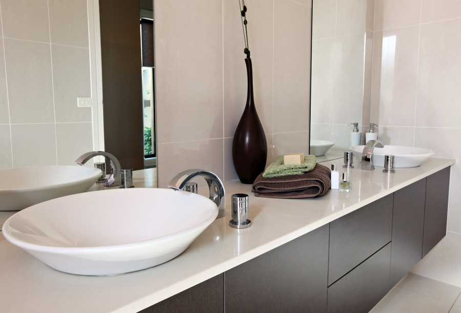 Rubinetti Per Bagno: Applique luci a led 30x10 per specchiera da ...