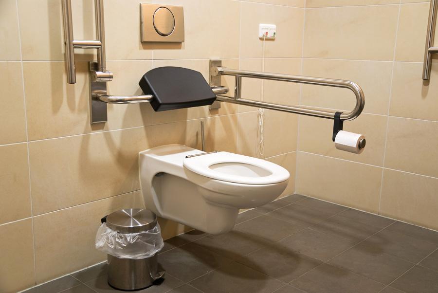 Bagno per disabili misure e cose da sapere - Normativa bagno disabili locali pubblici ...