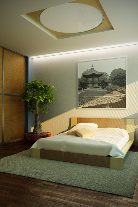 Colore pareti camera da letto quali scegliere for Camera da letto zen