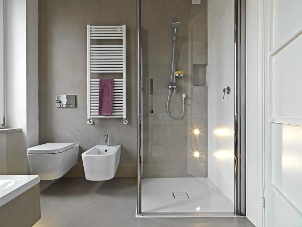Piastrelle per il bagno consigli e opinioni - Piastrelle grigie bagno ...