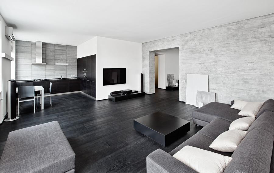 Salotto Con Cucina Moderna Bianco Interior Design : Colori pareti soggiorno consigli suggerimenti ed esempi