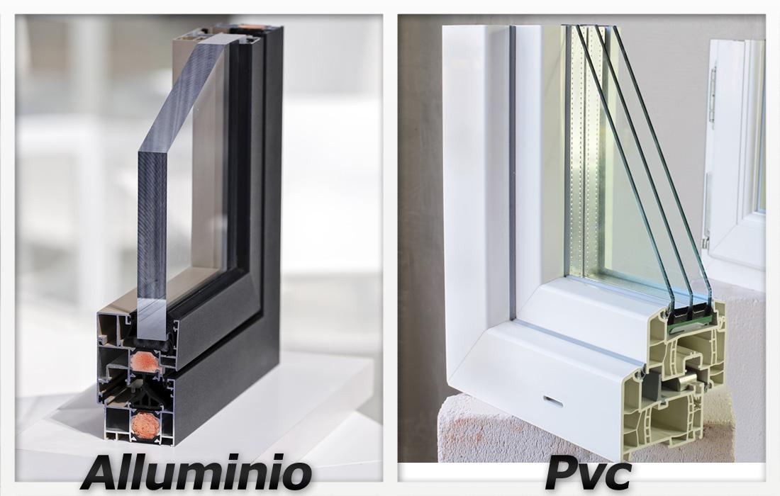 Meglio infissi in pvc o in alluminio prezzi e opinioni for Infissi pvc legno