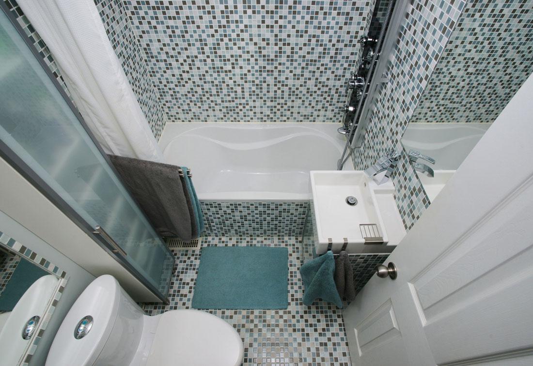 Il progetto per un bagno molto piccolo 2mq - Ristrutturare un bagno ...