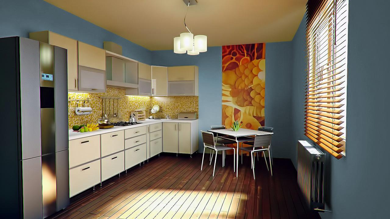 Colori pareti per una cucina bianca - Colori pareti cucina ...