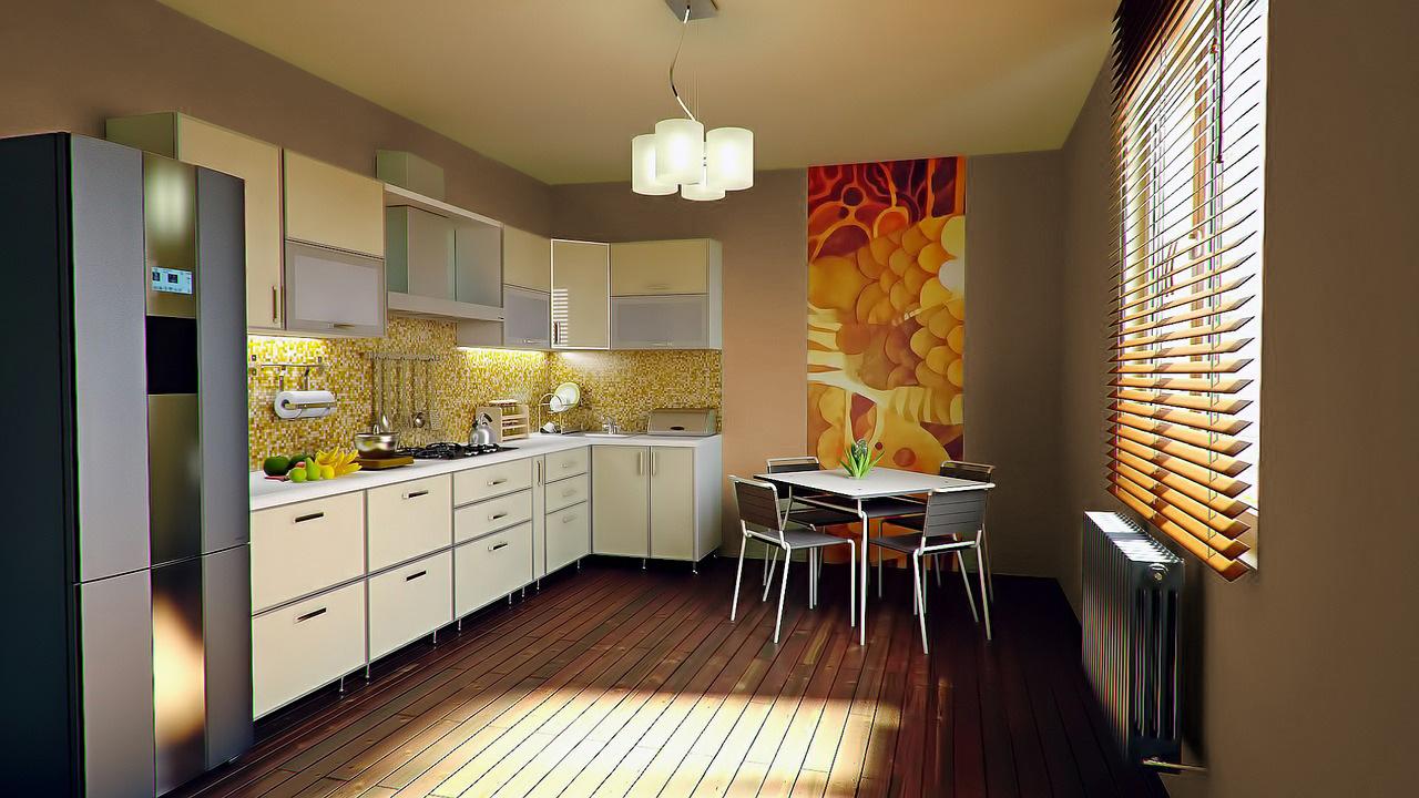 Colori pareti per una cucina bianca - Colori adatti alla cucina ...
