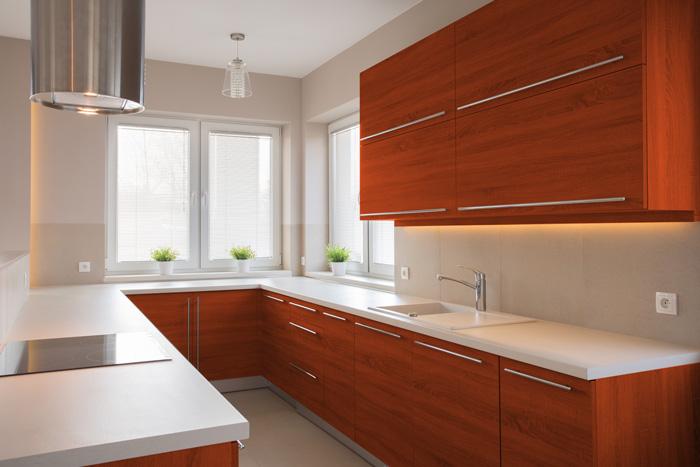 i migliori colori delle pareti per una cucina ciliegio | tirichiamo.it - Pareti Cucina Color Tortora