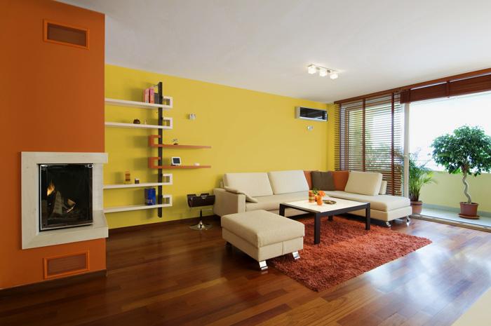 I Migliori colori delle pareti per un soggiorno moderno ...