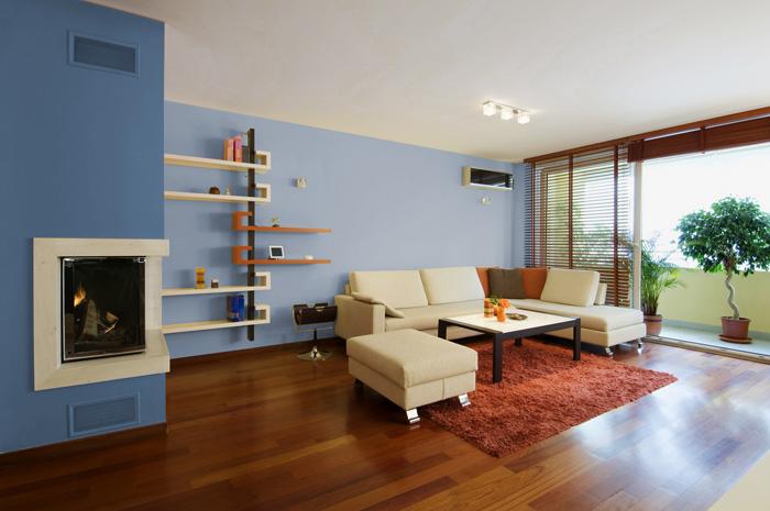 I migliori colori delle pareti per un soggiorno moderno for Colori pareti salotto moderno