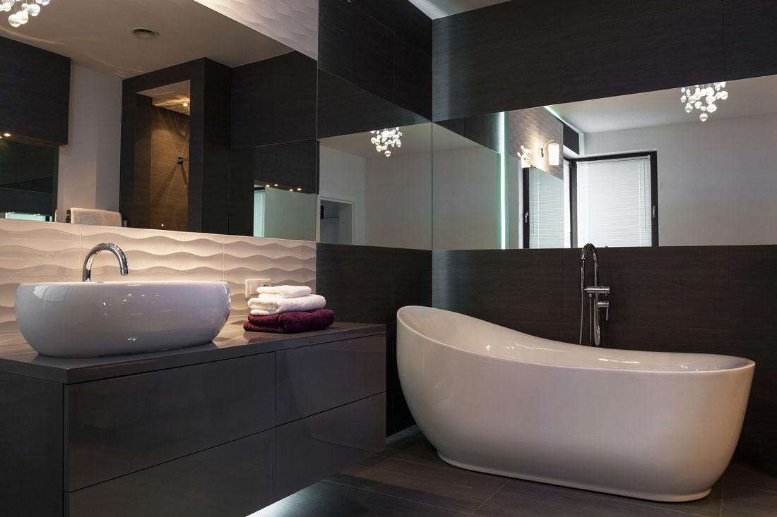 Progetto per un bagno quadrato di 4 mq - Idee per piastrellare un bagno ...