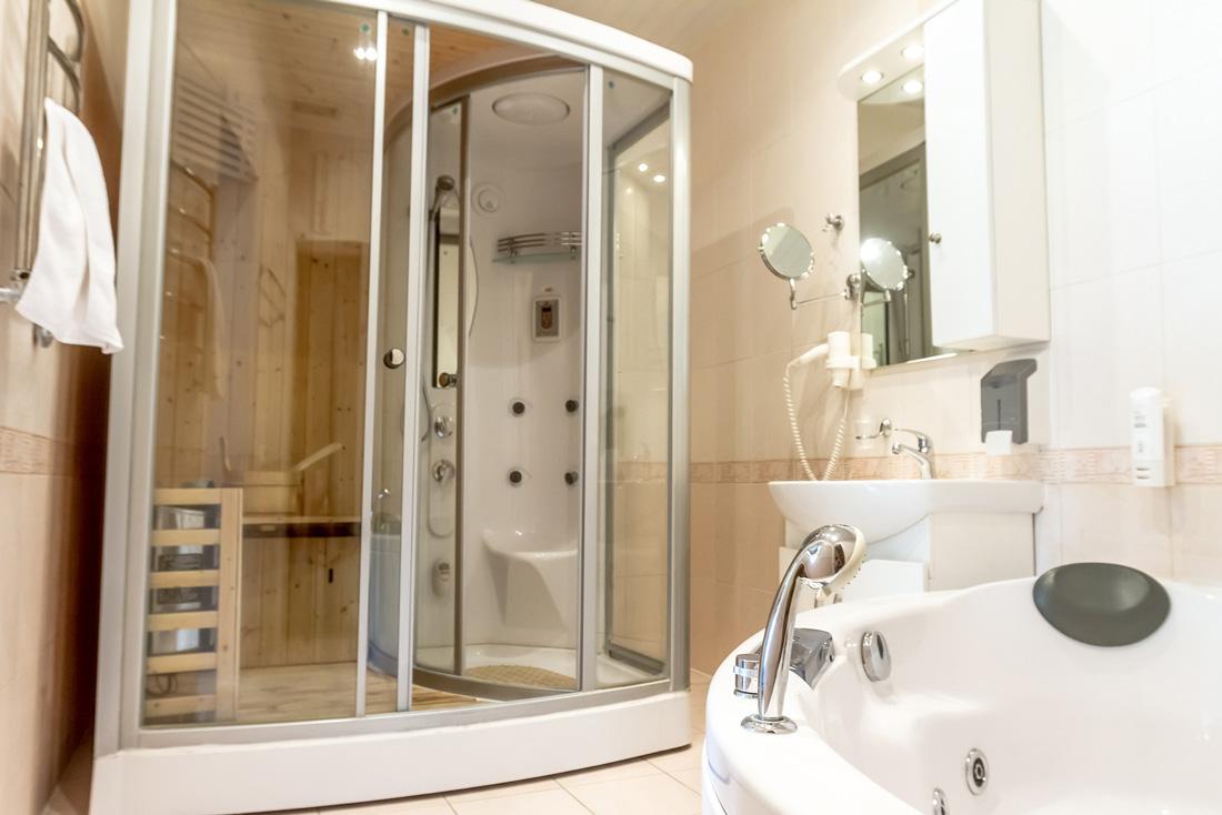 Il bagno turco e la sauna a casa - Box doccia con sauna e bagno turco ...