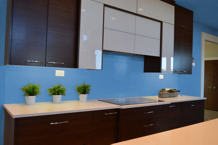 Colori delle pareti per una cucina moderna - Colori per mobili cucina ...