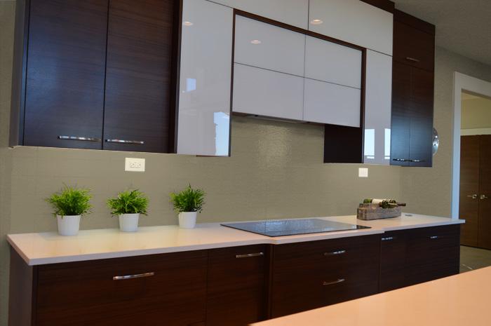 Colori delle pareti per una cucina moderna - Cucina color tortora ...