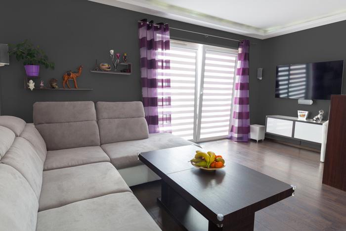 Il miglior grigio per le pareti del soggiorno - Colori per soggiorno consigli ...