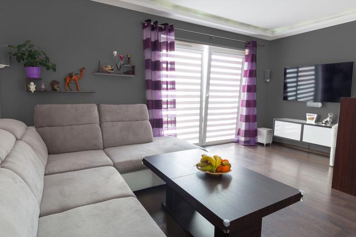 Il miglior grigio per le pareti del soggiorno for Immagini pareti colorate soggiorno
