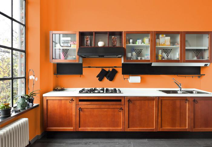 I migliori colori delle pareti per una cucina classica for Parati cucina