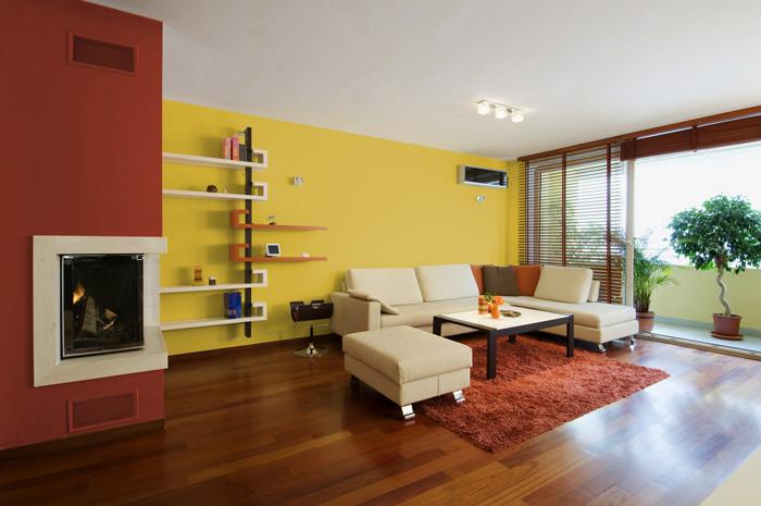 I migliori colori delle pareti per un soggiorno moderno for Colori moderni per pareti
