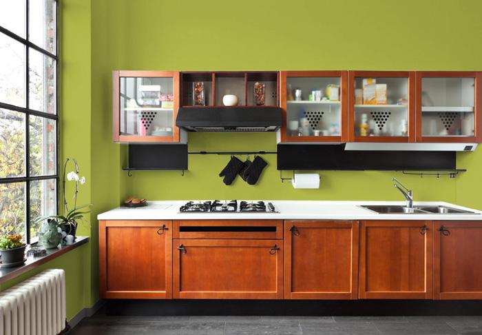 I migliori colori delle pareti per una cucina classica for Pittura pareti cucina