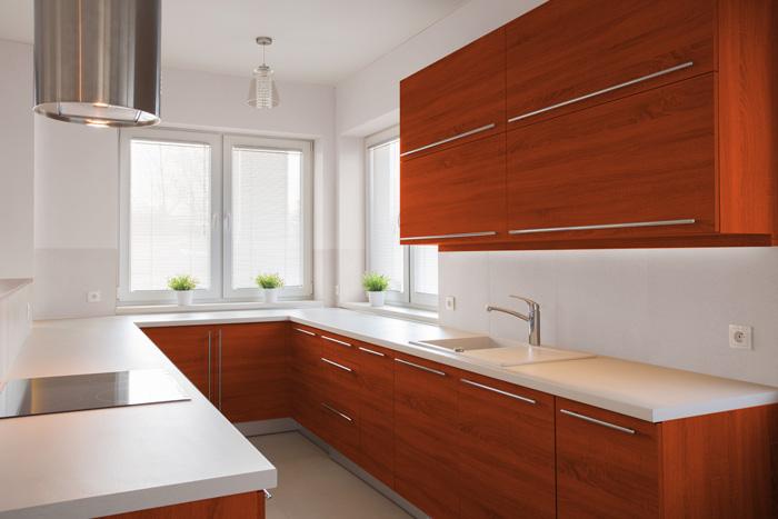 I migliori colori delle pareti per una cucina ciliegio - Mobili color ciliegio ...