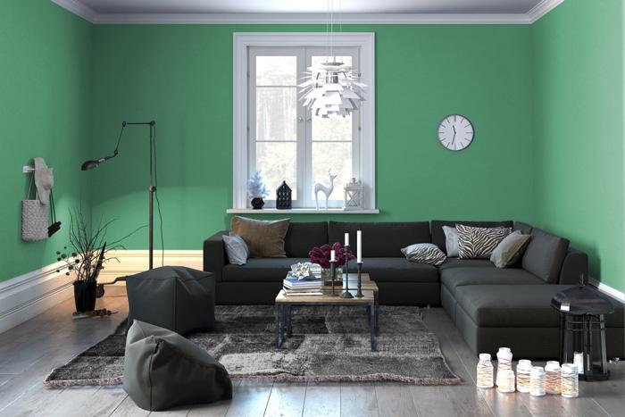 colori pareti soggiorno prova il verde ForPareti Verde Acqua