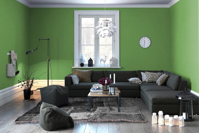 Soggiorno Con Pareti Verdi.Colori Pareti Soggiorno Prova Il Verde Tirichiamo It