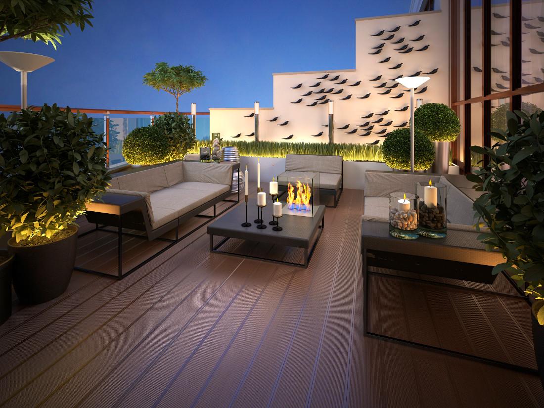 terrazzi arredati prezzi consigli pratici idee