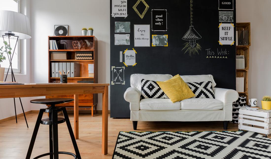 Pitture e vernici per pareti effetto lavagna - Parete lavagna cucina ...