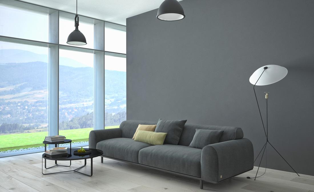 Dipingere Pareti Grigio Chiaro : Pareti scure consigli per soffitti e tirichiamo
