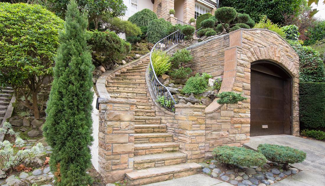 Piastrelle effetto pietra per esterno. simple terre piastrelle in