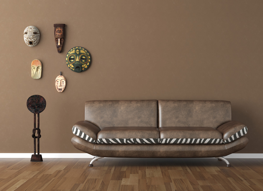 Pareti marroni dalla camera al soggiorno le migliori tonalit - Camera da letto marrone ...