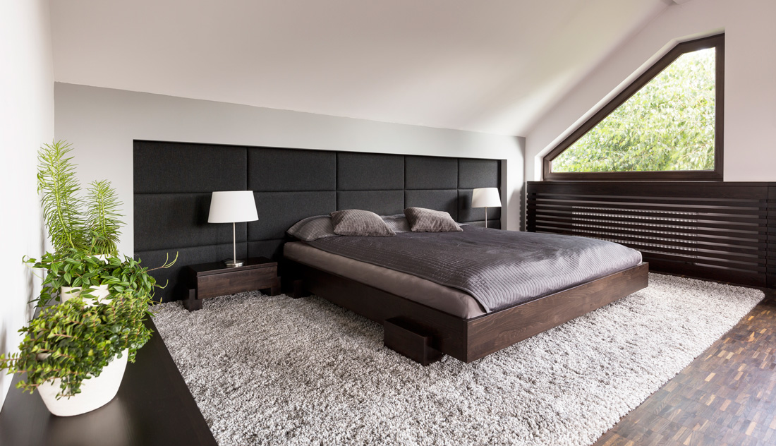 Camera da letto con arredamento minimal prezzi e for Camera minimal