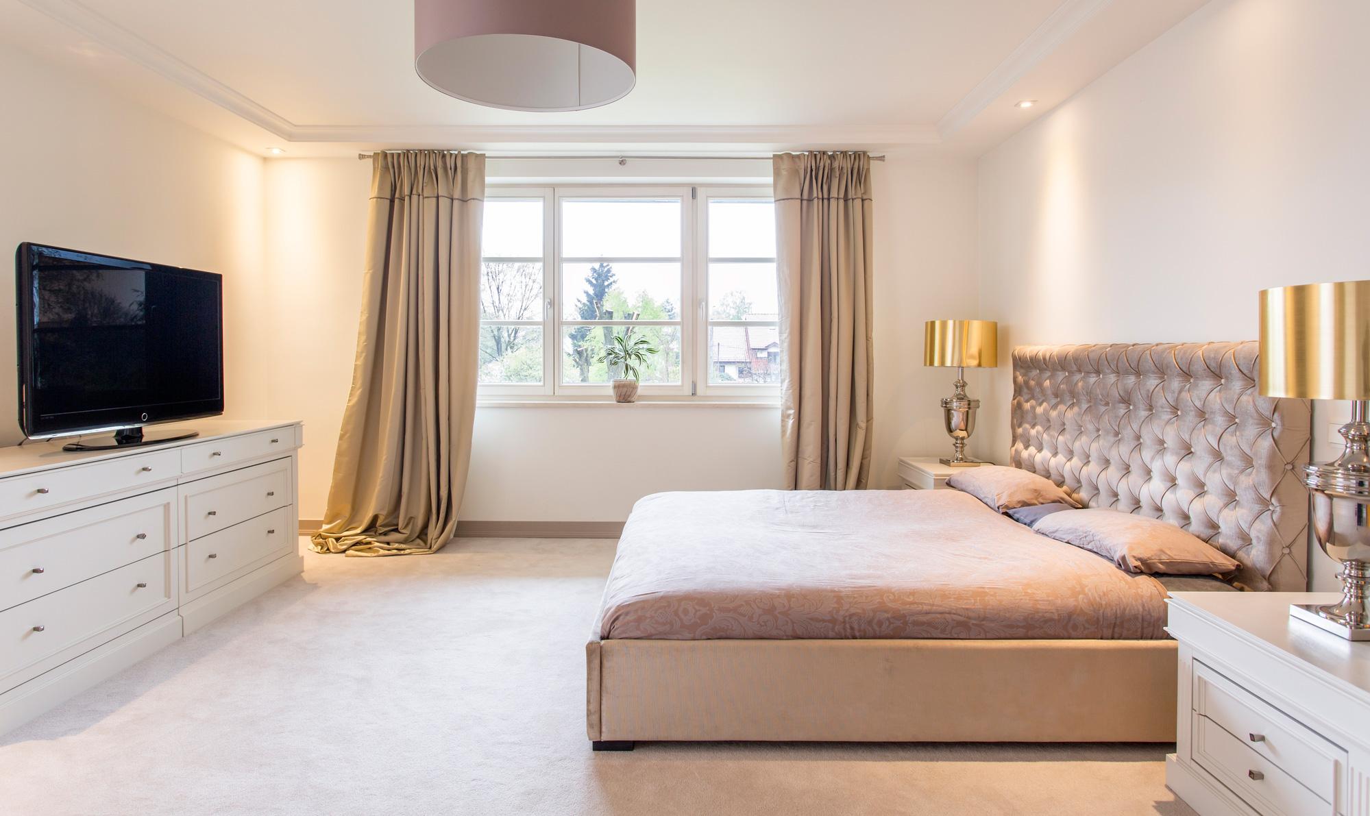 Camere da letto eleganti dal classico al moderno - Pitture camera da letto ...