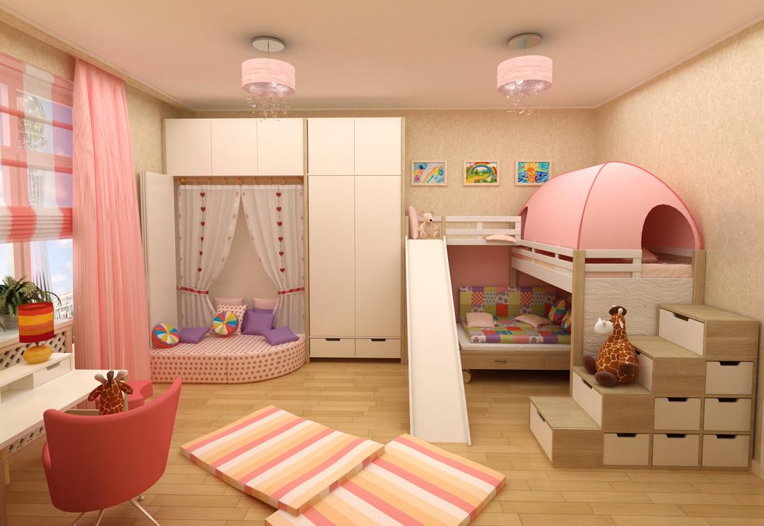Camerette e letti con scivolo 5 idee con i prezzi - Idee soppalco camera da letto ...