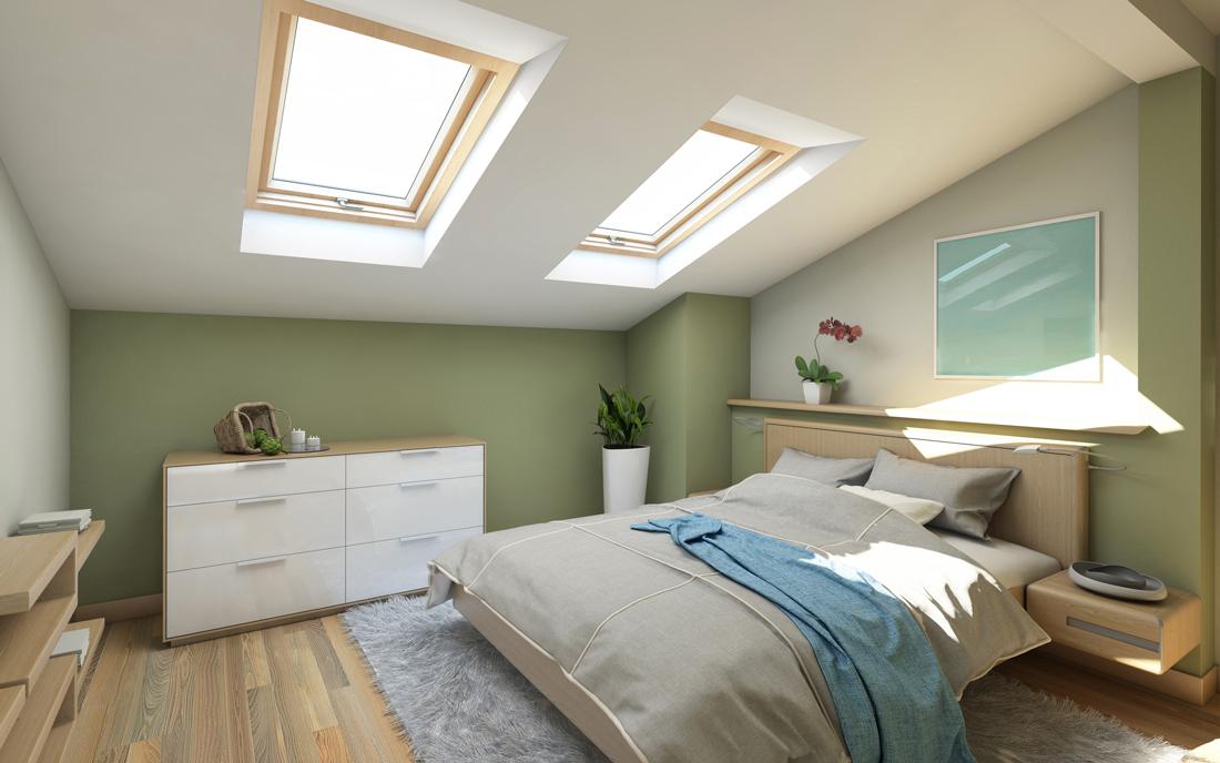 camera da letto per mansarde - idee, costi e consigli | tirichiamo.it - Mansarda Camera Da Letto