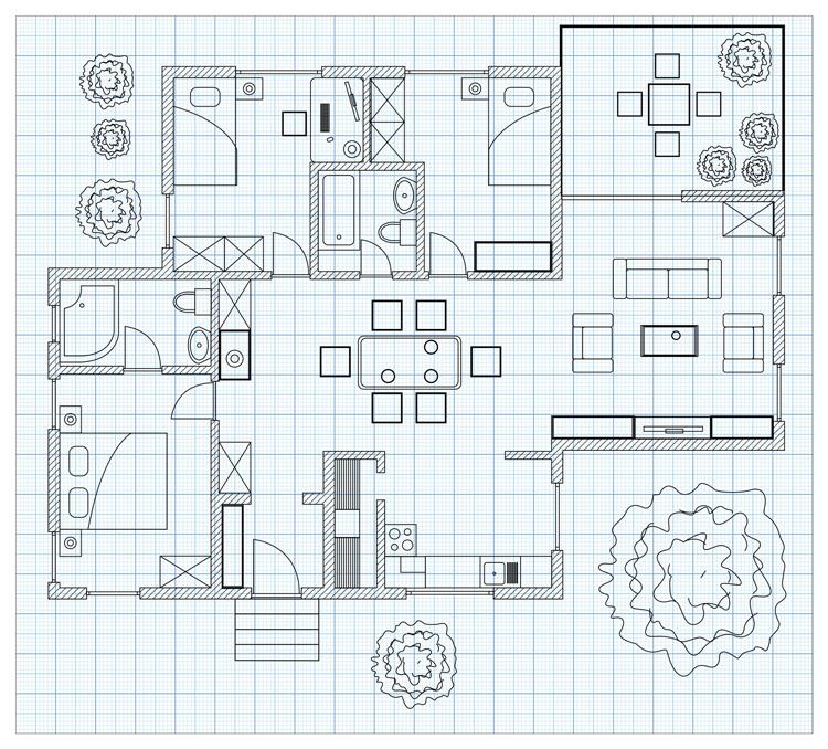 Ristrutturazione casa 100 mq prezzi costi e idea di for Progetti per ristrutturare casa
