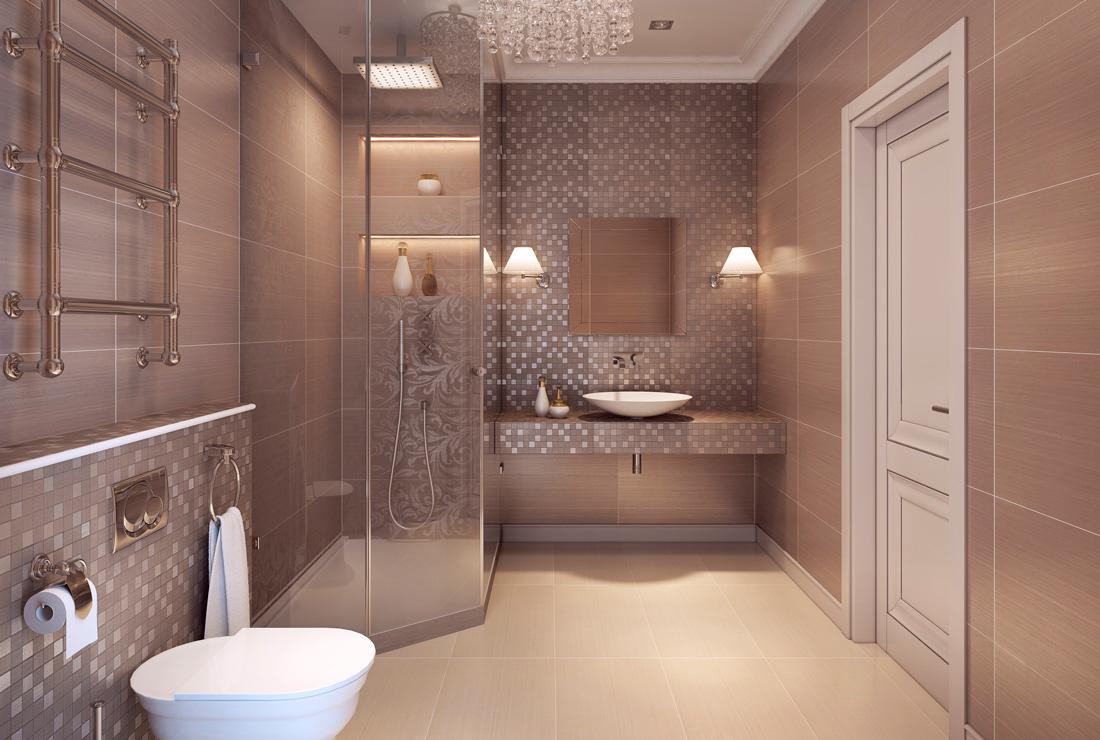 Rivestimento Bagno a Mosaico - 10 Idee di Design | TiRichiamo.it