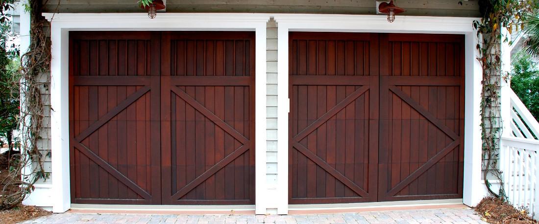 Portoni A Due Ante Per Garage Usato.Porte Per Garage In Legno Alluminio E Pvc Prezzi E Misure