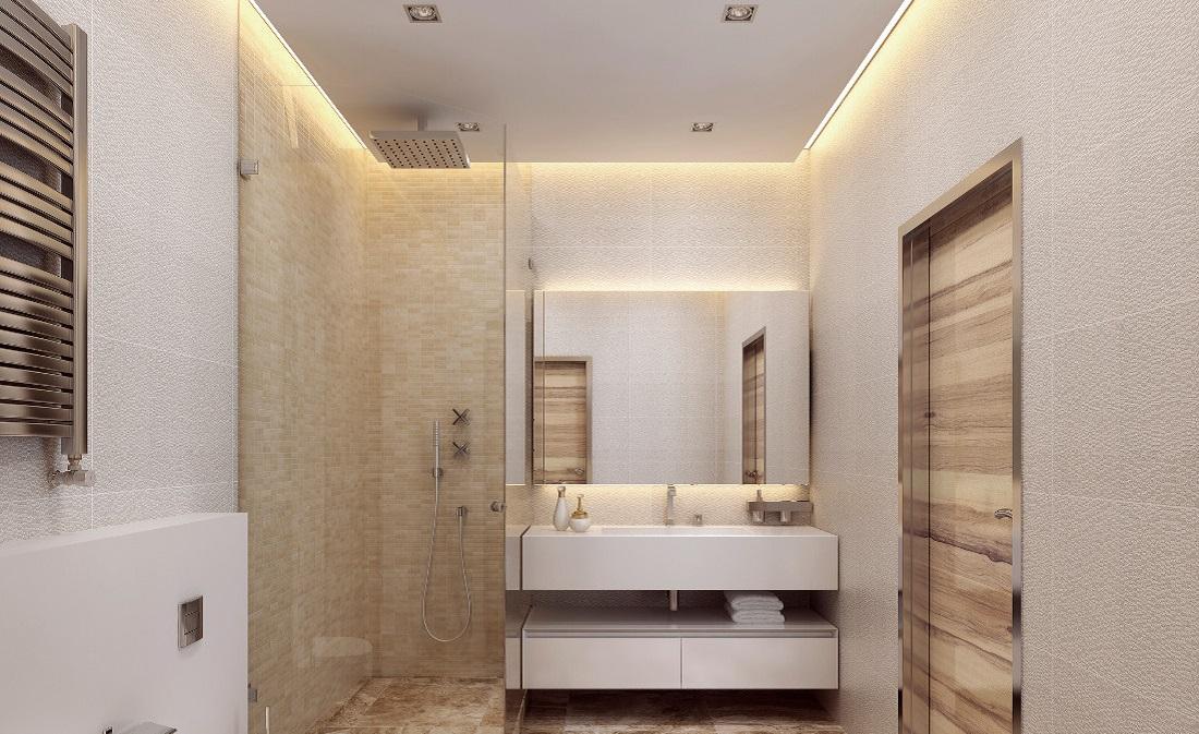 Controsoffitto del bagno prezzi idee e consigli - Scaldare il bagno elettricamente ...