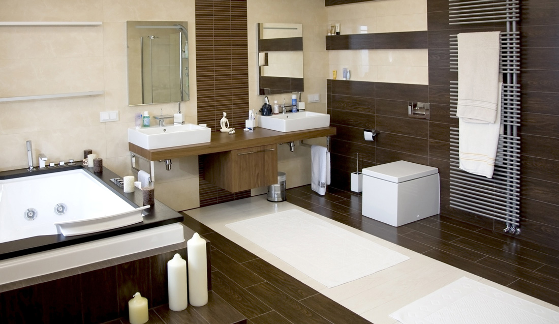 Piastrelle e pavimenti in gres porcellanato prezzi e - Bagno gres porcellanato ...