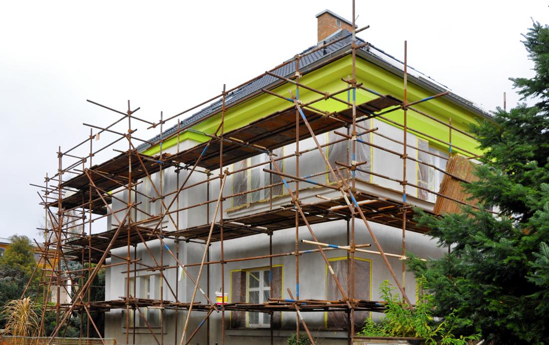 Pittura per esterni per la tinteggiatura delle facciate - Tinteggiatura casa ...