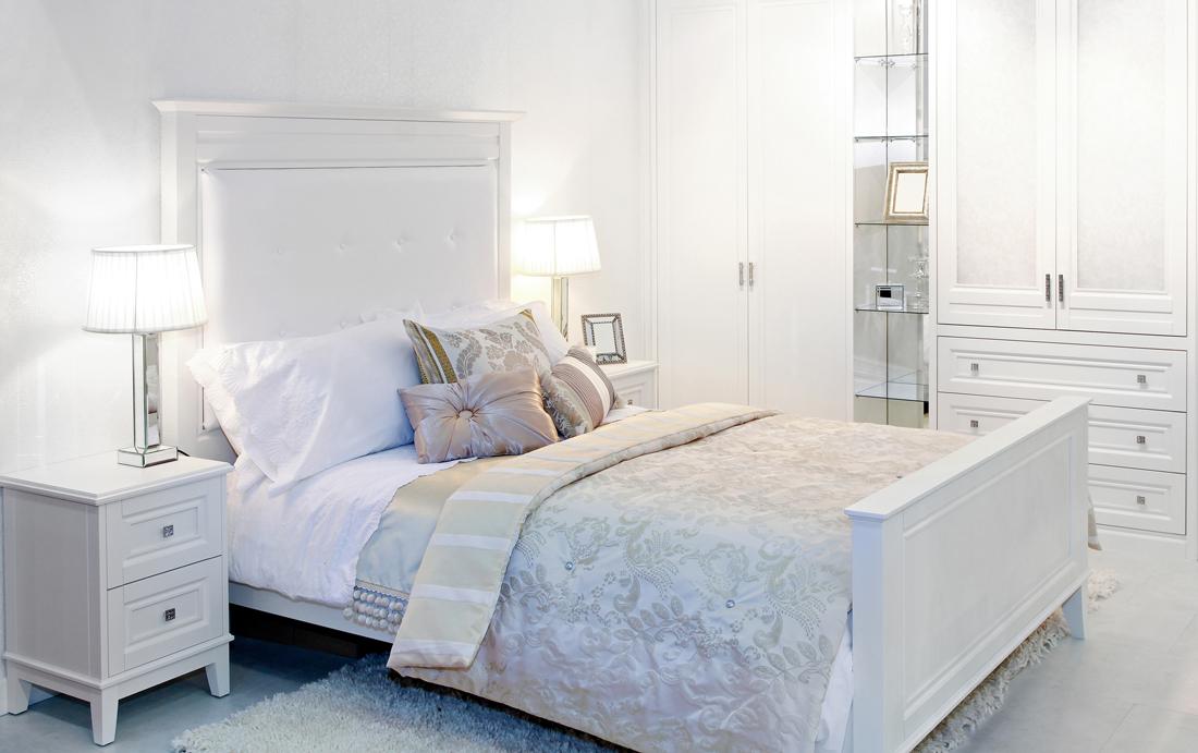 La camera da letto bianca consigli accostamenti e - Camera da letto bianca e viola ...