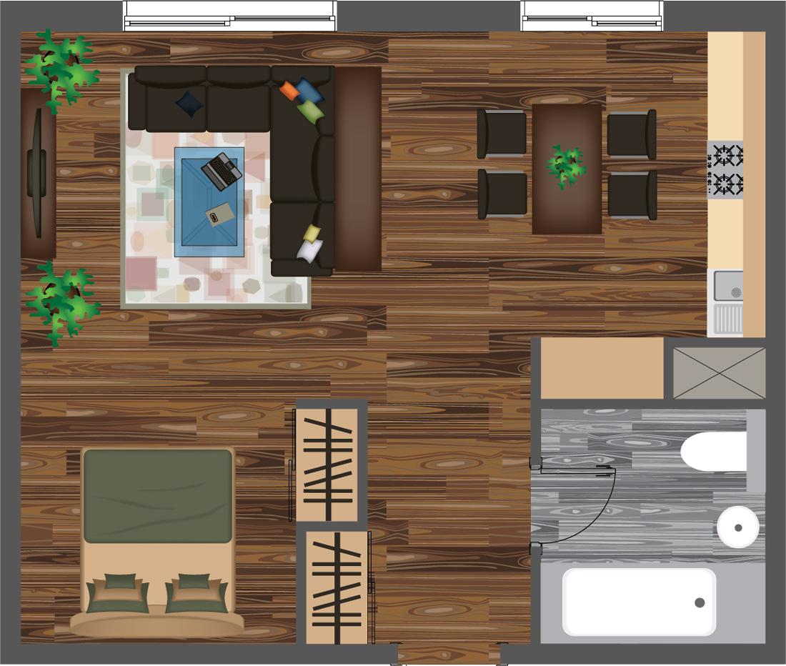 Quanto costa la ristrutturazione di un monolocale prezzi e progetto - Quanto costa il progetto di una casa ...