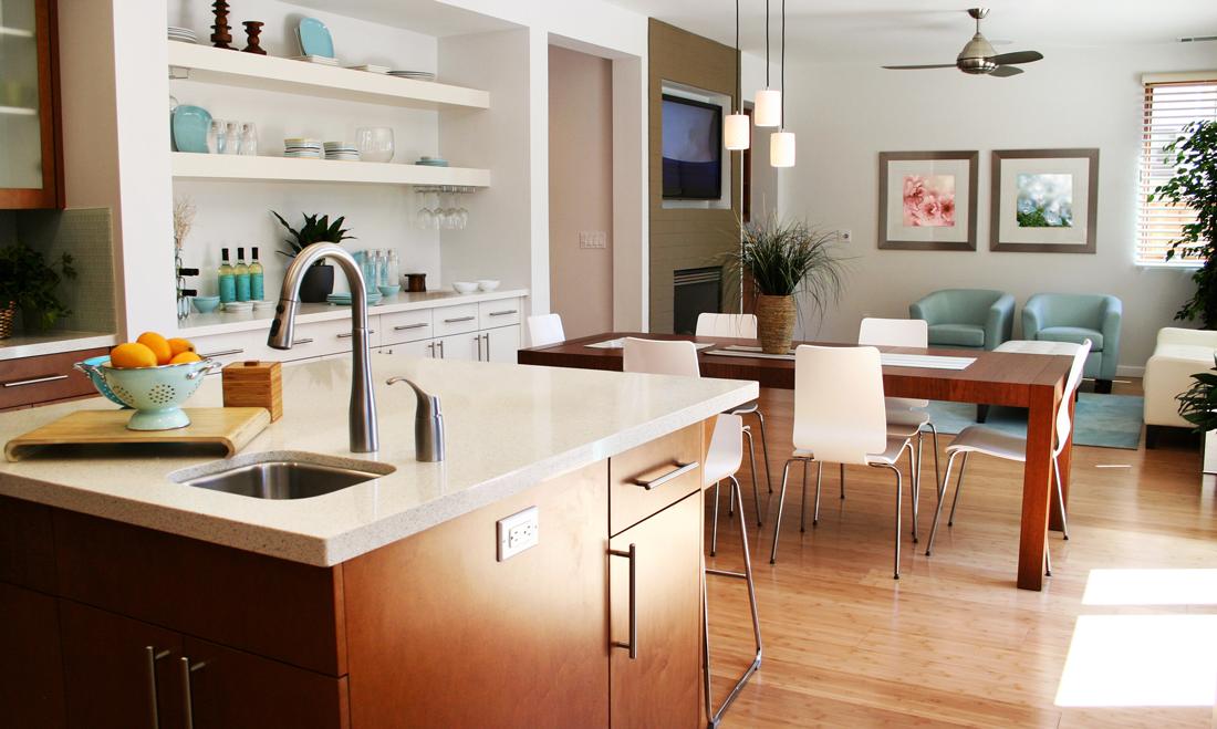Come arredare un soggiorno costi idee e consigli for Stanza da pranzo moderna