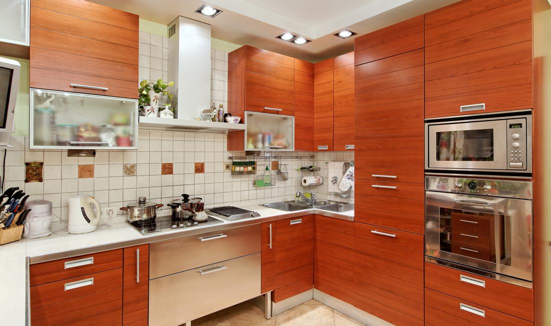 Cucine moderne ad angolo o angolari prezzi e consigli - Cucine in ciliegio moderne ...