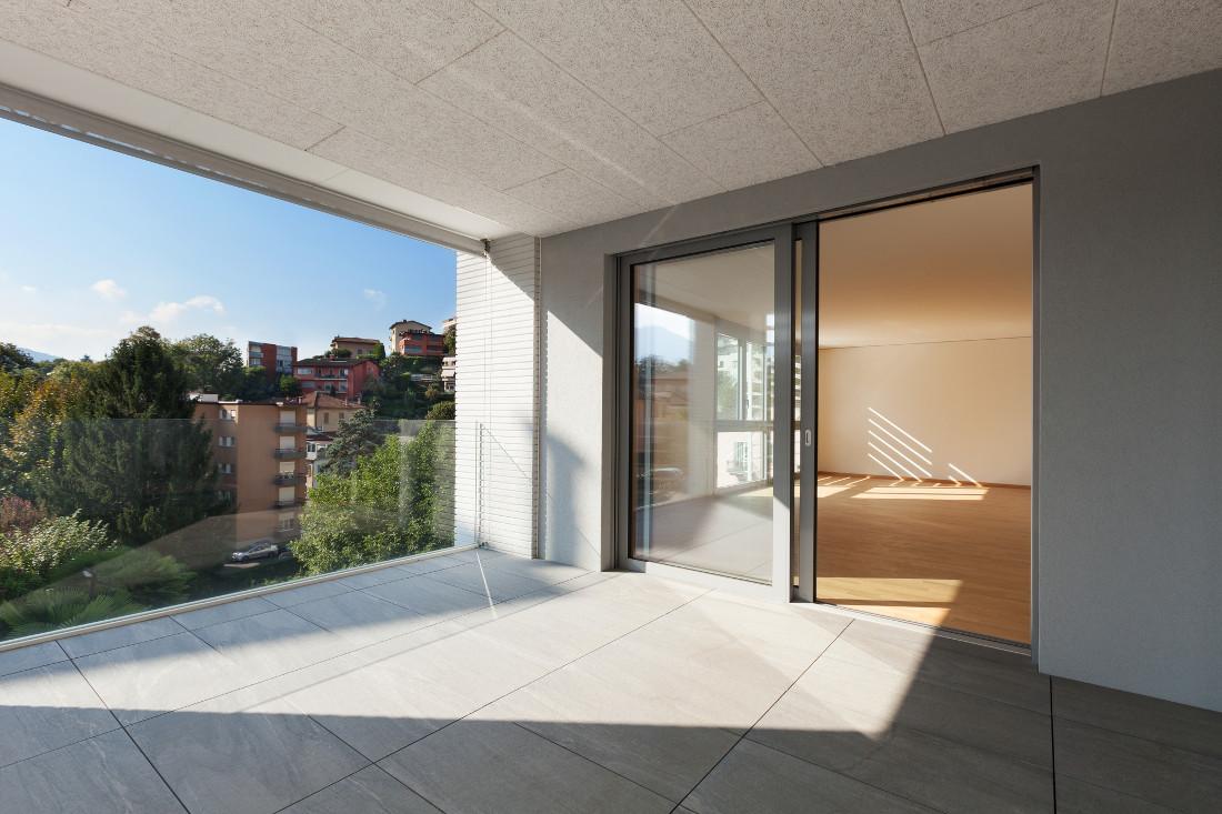 Porta finestra in pvc legno alluminio a taglio termico - Porta balcone pvc prezzi ...