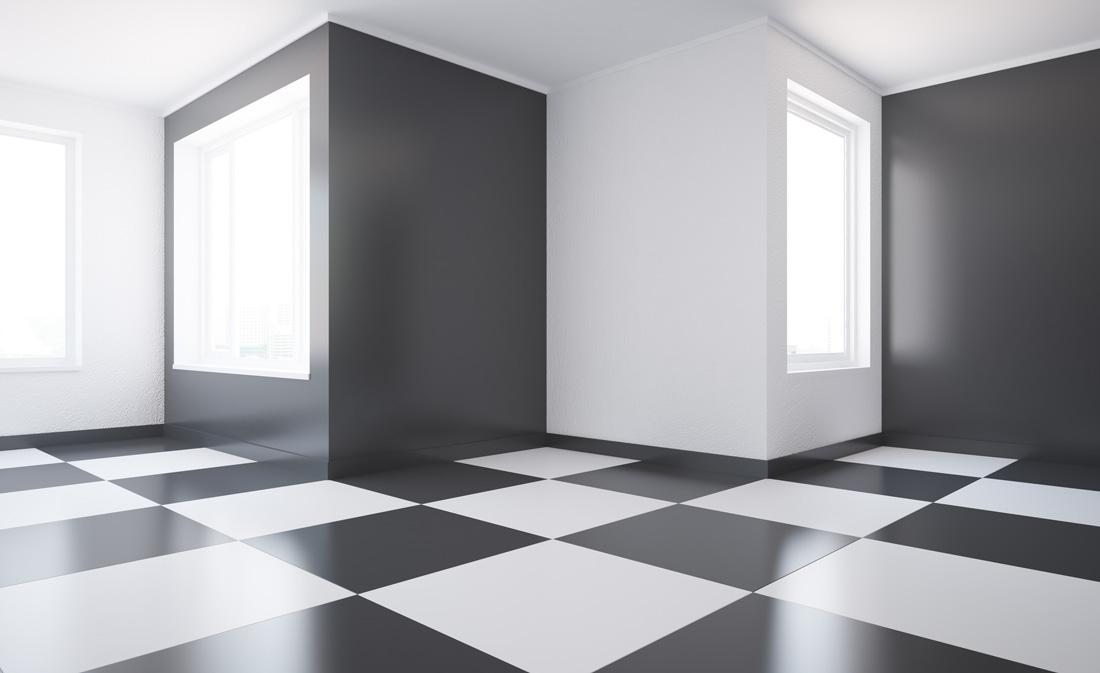 Pavimento a scacchi o a scacchiera prezzi e opinioni - Piastrelle per pavimenti interni prezzi ...