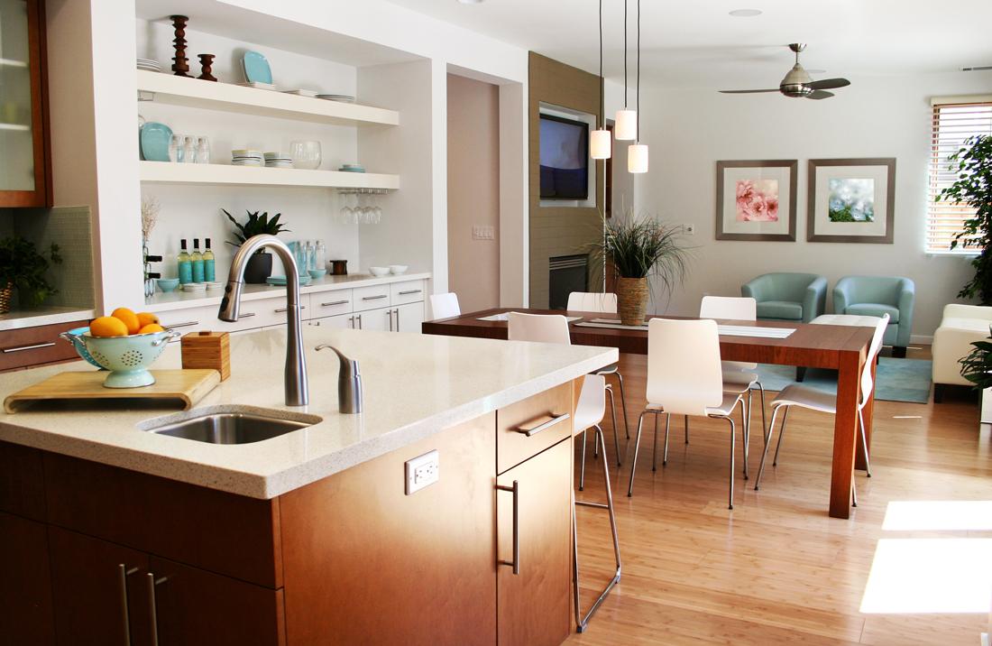 Cucina e soggiorno ambiente unico idee e consigli for Sala e cucina insieme